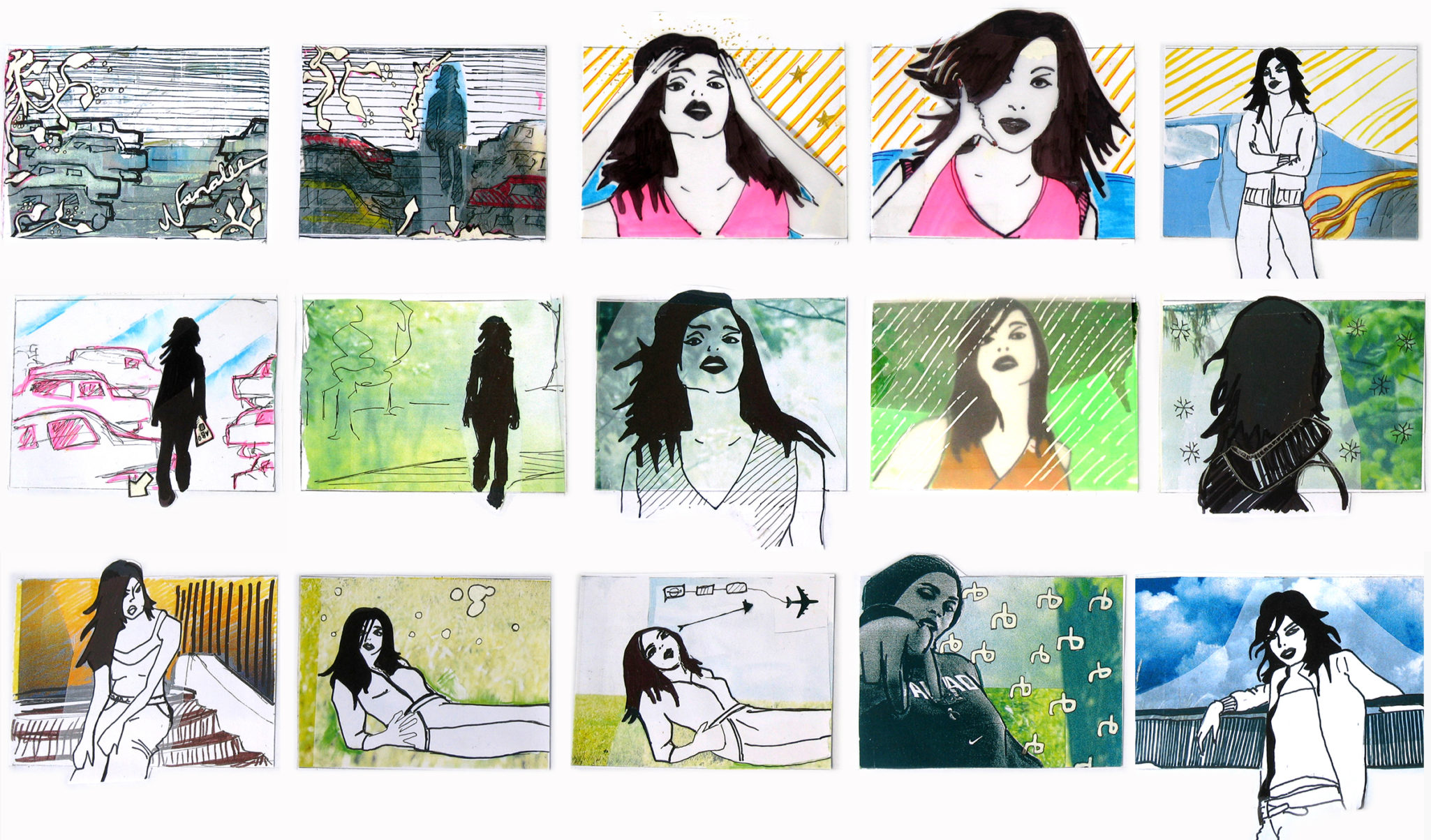 Storyboard: Music video for Nanalee