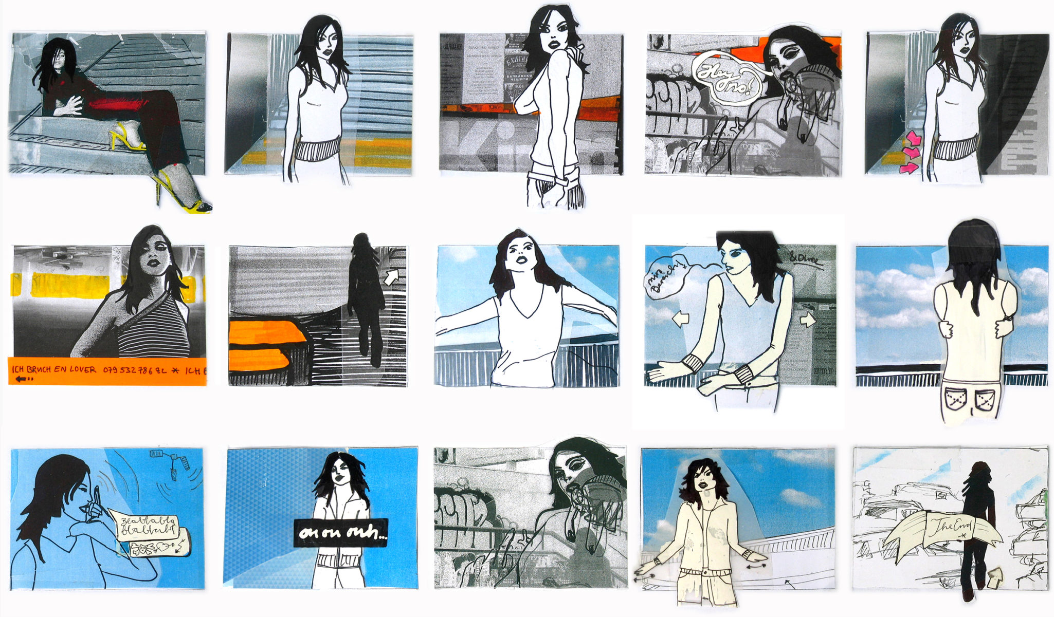 Storyboard: Musicvideo for Nanalee