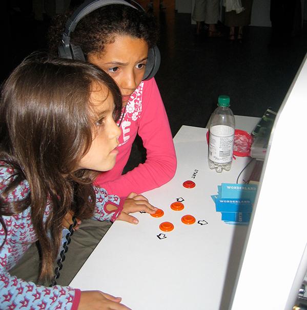Photo: Kids playing Wonderland