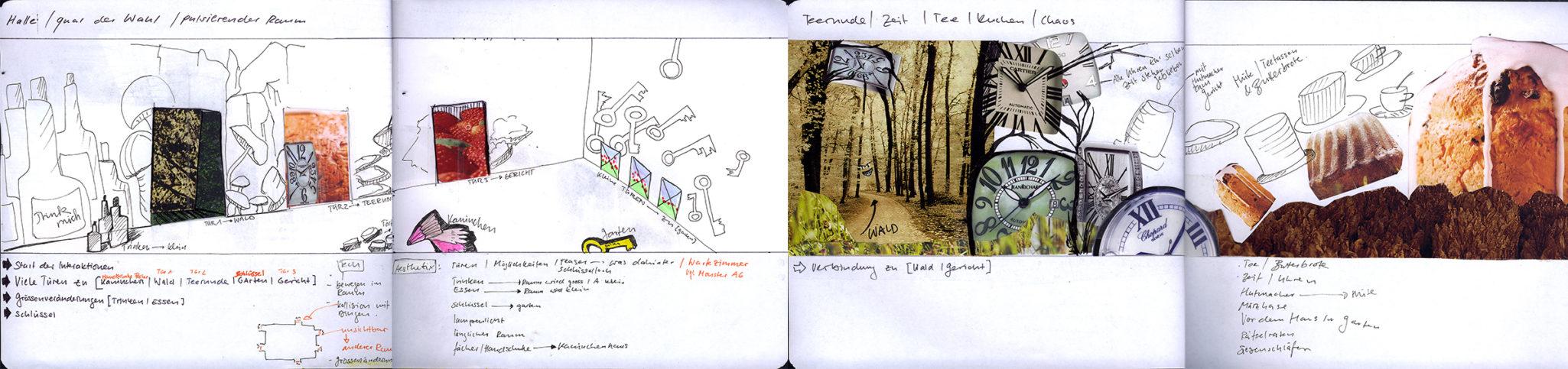 Sketchbook: Wonderland Project