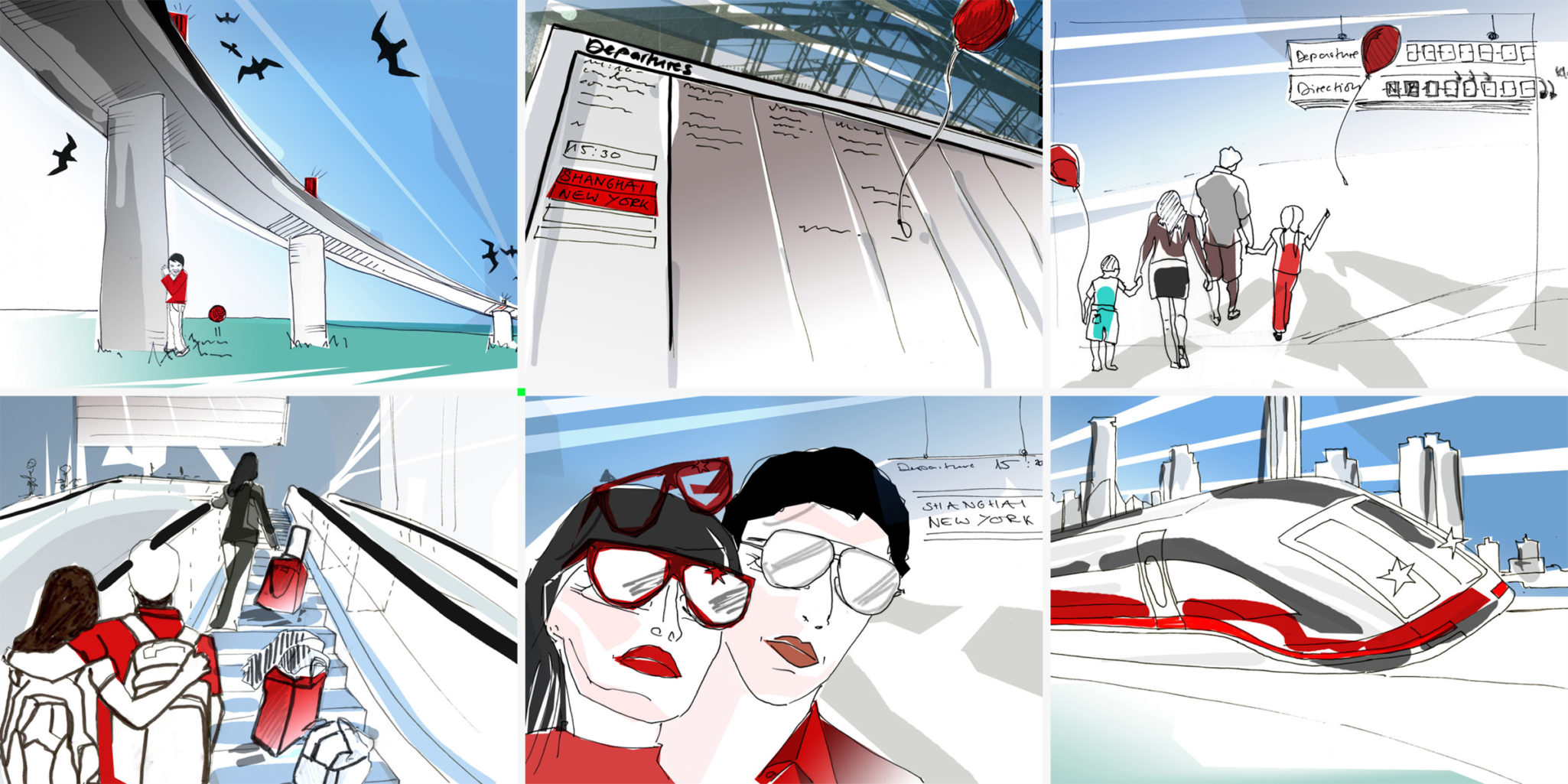 "Storyboard ""The power of zero gravity"""
