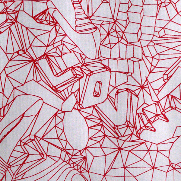 Screen-printed all-over pattern