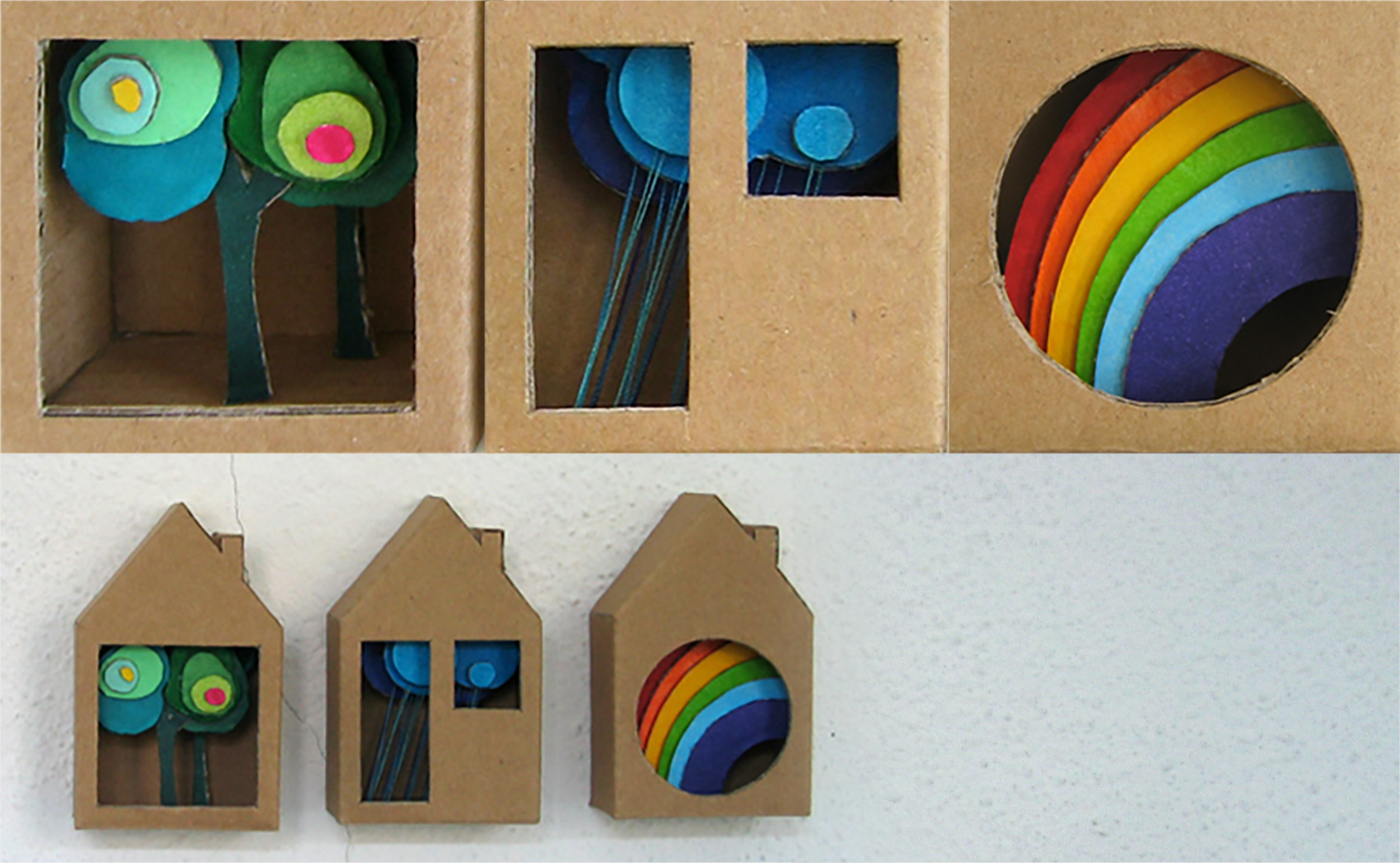 Cardboard Boxes: Houses