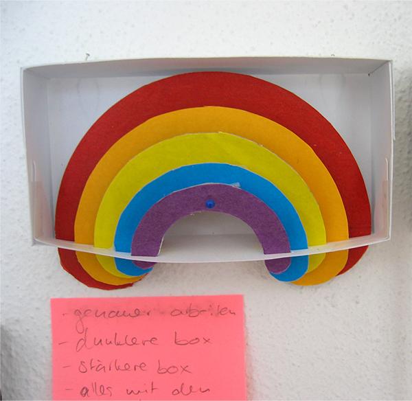 Production process: Rainbow