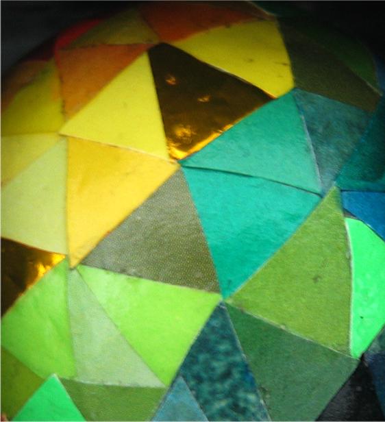Production process: disco ball