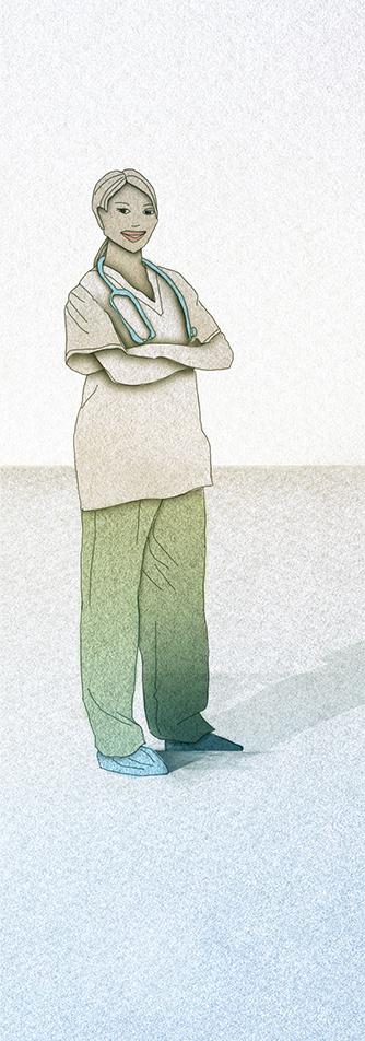 Illustration: The nurse