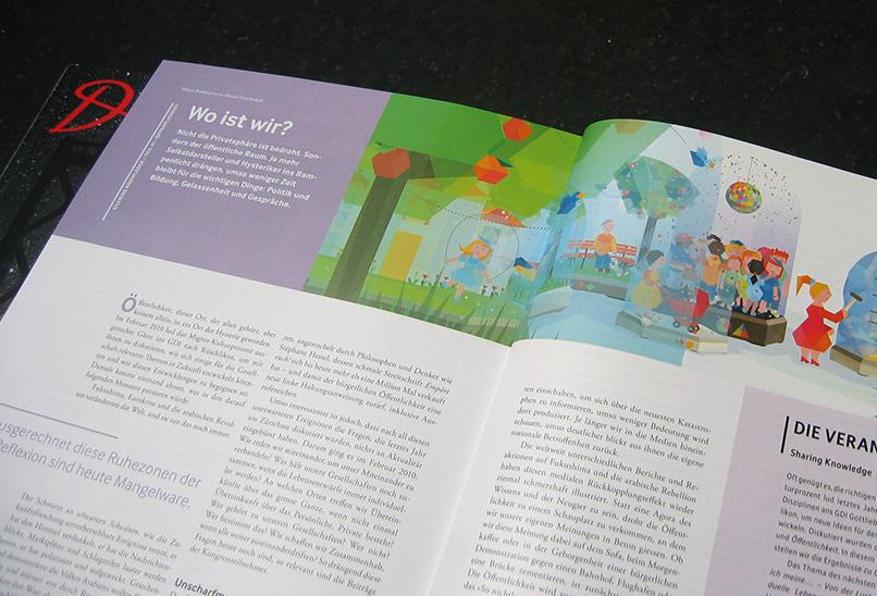 Photo: Illustration for Du Magazine