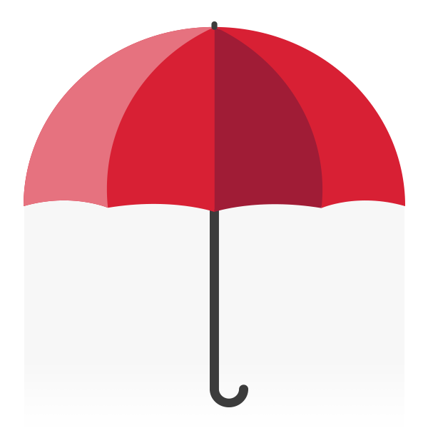 Icon: Red umbrella