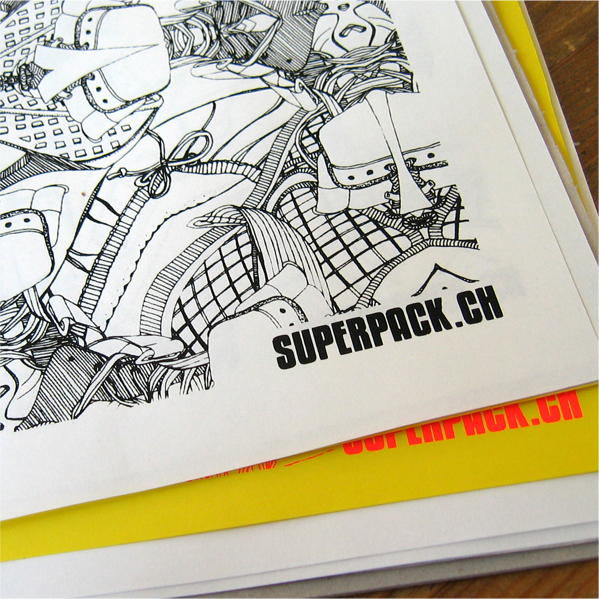 Screenprint: Wrapping Paper