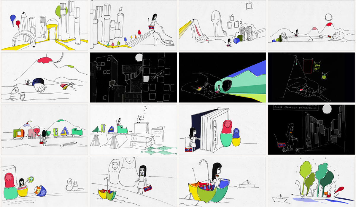 "Storyboard: Music video ""Perspective"""