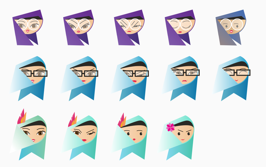 Character Design: Traditional Malaysian Girl