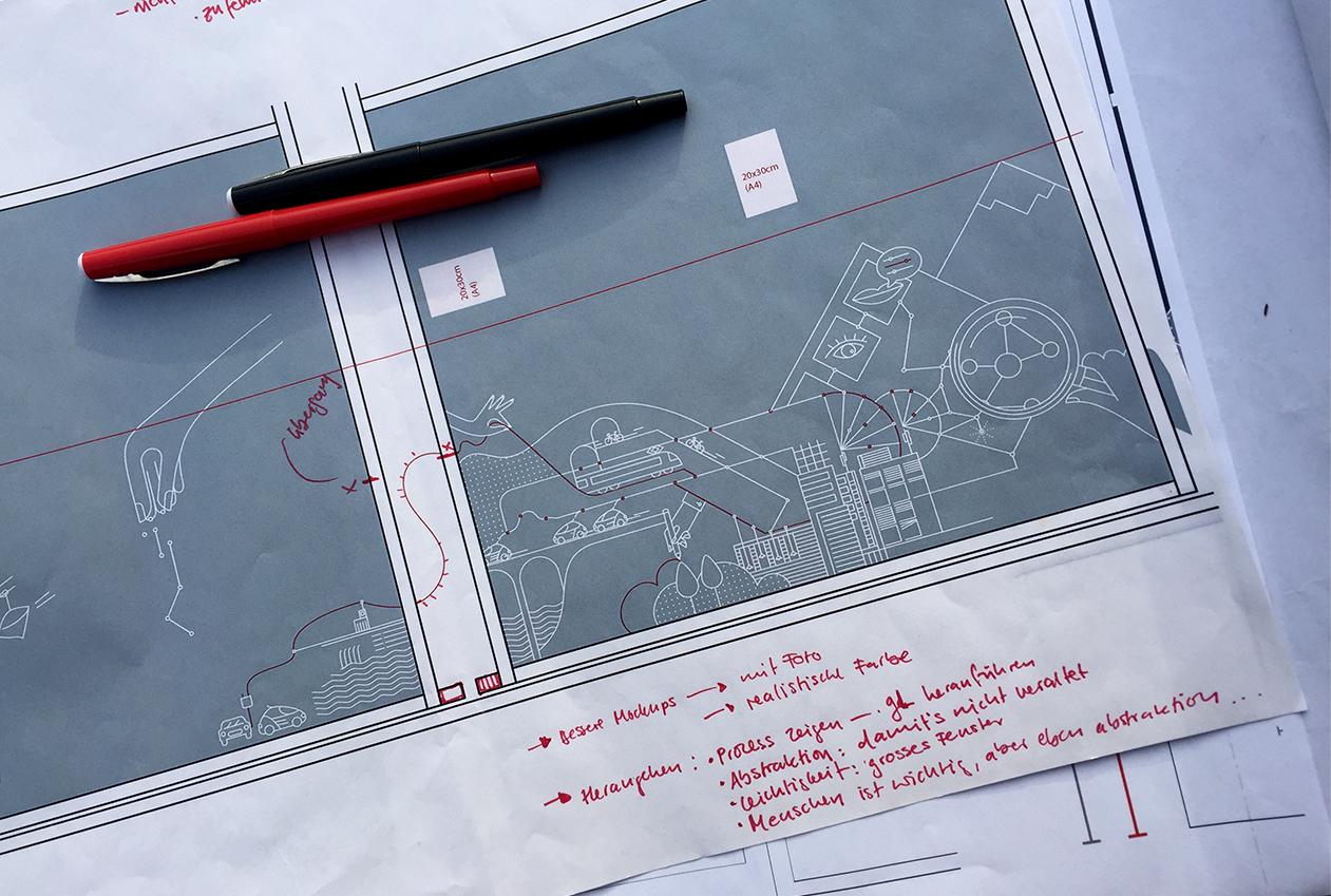 Vector Illustration: work in progress